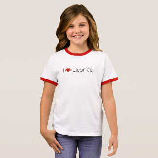 Jetset Licorice > Girls T-Shirt - iHeart Licorice