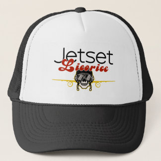 Jetset Licorice > Trucker Hat - Skull Pilot