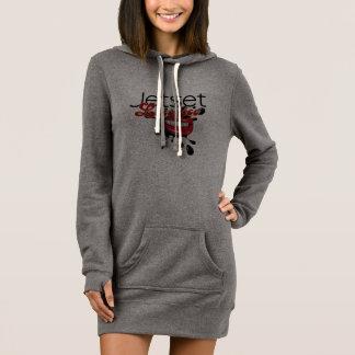 Jetset Licorice > Women's Hoodie Dress