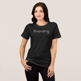 Jetset Licorice > Womens T-Shirt < Boarding