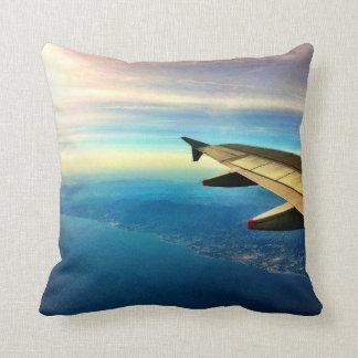 Jetsetter Costa del Sol Throw Pillow