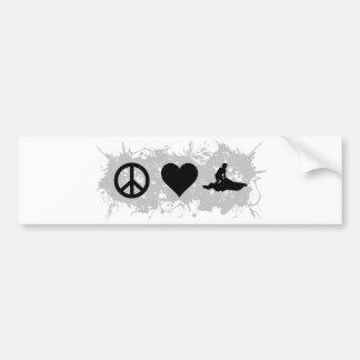 Jetski Bumper Sticker