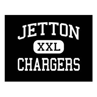 Jetton - Chargers - Junior - Paducah Kentucky Postcard