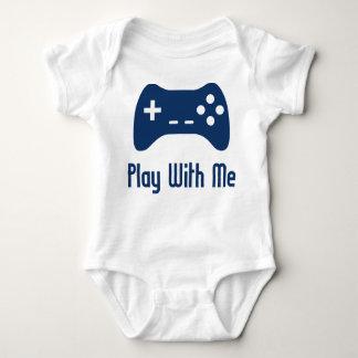 Jeu avec moi jeu vidéo t-shirt