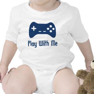 Jeu avec moi jeu vidéo body pour bébé