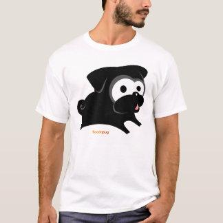 Jeu noir de carlin ! Chemise T-shirt