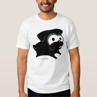 Jeu noir de carlin ! Chemise Tee-shirts