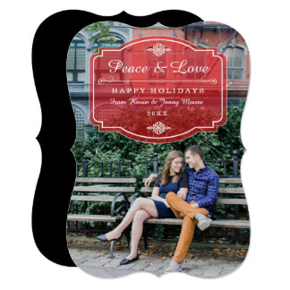 Jeune Amour Holiday Photo Card