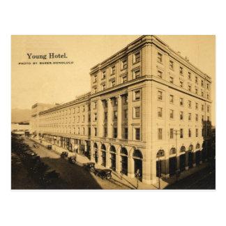 Jeune carte postale historique Honolulu, Hawaï d'h