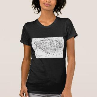 Jeune fille d'étoile t-shirt