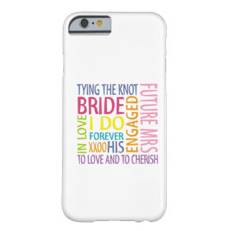 Jeune mariée coque iPhone 6 barely there