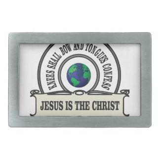 Jeus christ savior man belt buckle