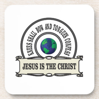 Jeus christ savior man coaster