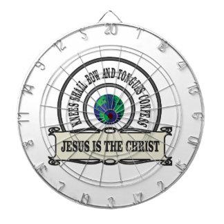 Jeus christ savior man dartboard