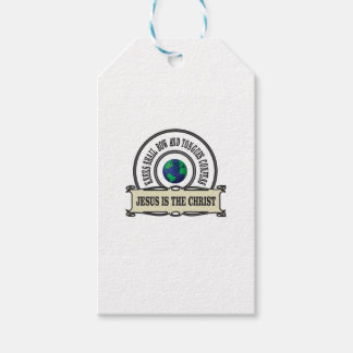 Jeus christ savior man gift tags