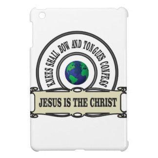 Jeus christ savior man iPad mini cover