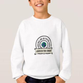 Jeus christ savior man sweatshirt