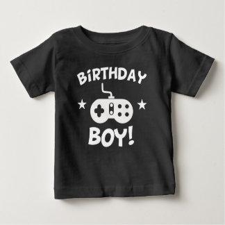 Jeux vidéo de garçon d'anniversaire t-shirt pour bébé