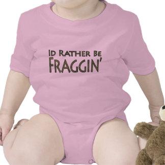 Jeux vidéo et jeu - je serais plutôt Fraggin T-shirts