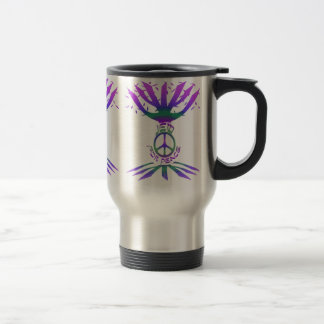 Jew for Peace (Color) Travel Mugs