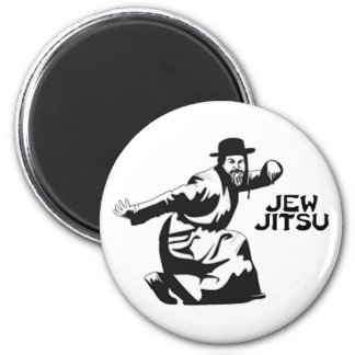 Jew Jitsu Magnet | Jewish Bar Mitzvah Gifts
