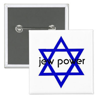 Jew Power 2 Inch Square Button