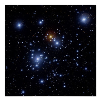 Jewel Box or Kappa Crucis Cluster Poster