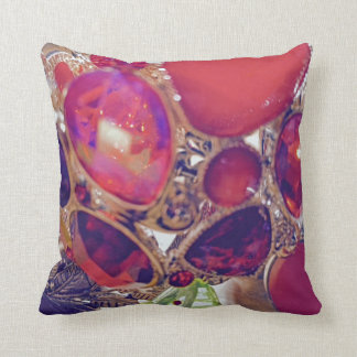 Jewel Box Throw Pillow