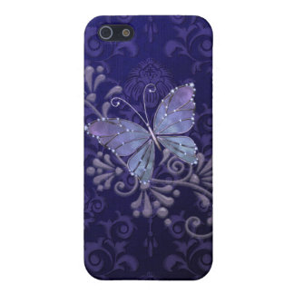 Jewel Butterfly iPhone 5/5S Case