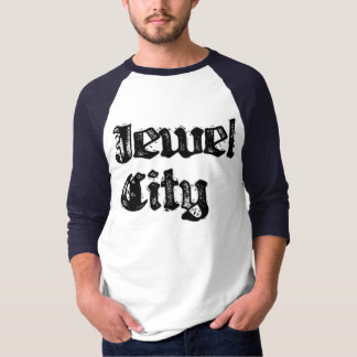 Jewel City Blue Baseball T T-Shirt