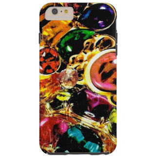 Jewel Gemstone Bling Collage Tough iPhone 6 Plus Case