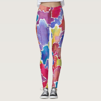 Jewel Map Leggings
