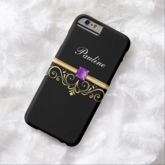 Jewel Monogram Style Barely There iPhone 6 Case