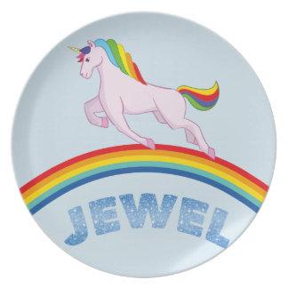 Jewel Plate for children