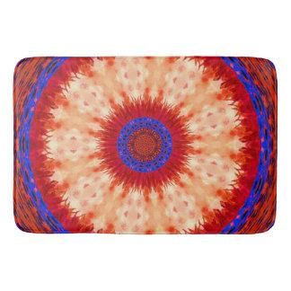Jewel Poppy 1. Bath Mat