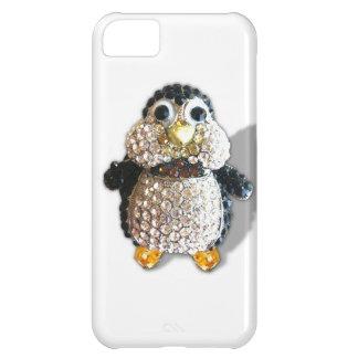 Jewel Sparkle Penguin Cute Pretty iPhone 5C Cover