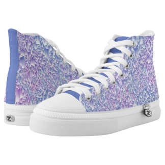 Jewel Tone Glitch High Tops