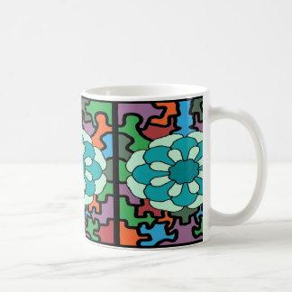 Jeweled Aqua Coffee Mug