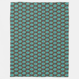 Jeweled Aqua Fleece Blanket