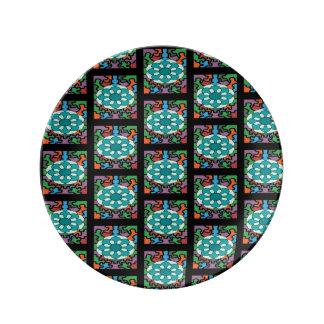 Jeweled Aqua Plate