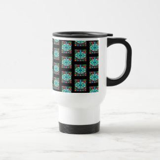 Jeweled Aqua Travel Mug