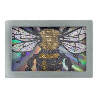 jeweled bee belt buckle