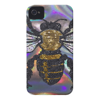 jeweled bee Case-Mate iPhone 4 case