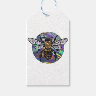 jeweled bee gift tags