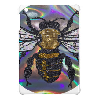 jeweled bee iPad mini cover
