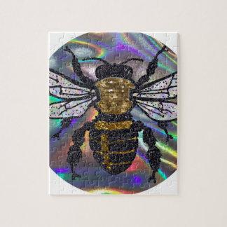 jeweled bee jigsaw puzzle