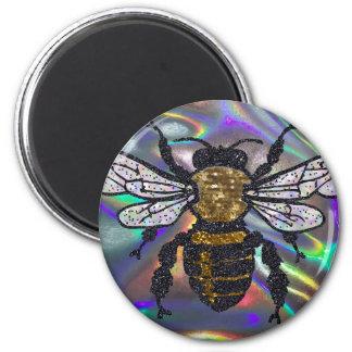 jeweled bee magnet