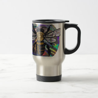 jeweled bee travel mug
