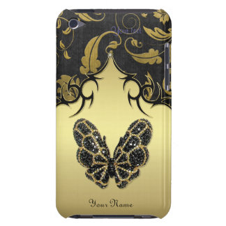 Jeweled Butterfly Damas - Customize for iPod Touch iPod Touch Cover
