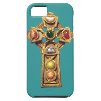 Jeweled Celtic Christian iPhone 5 Case green